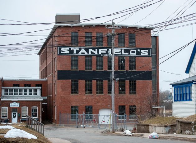 Canadian garment manufacturer Stanfield's is seen here in Truro, N.S., on