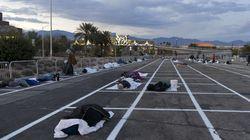Λας Βέγκας: Εστειλαν άστεγους να κοιμηθούν σε υπαίθριο πάργκινγκ λόγω