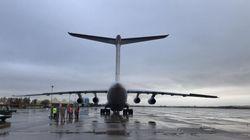 🔴 En directo: Aterriza en Barajas un avión procedente de China con 82 toneladas de material