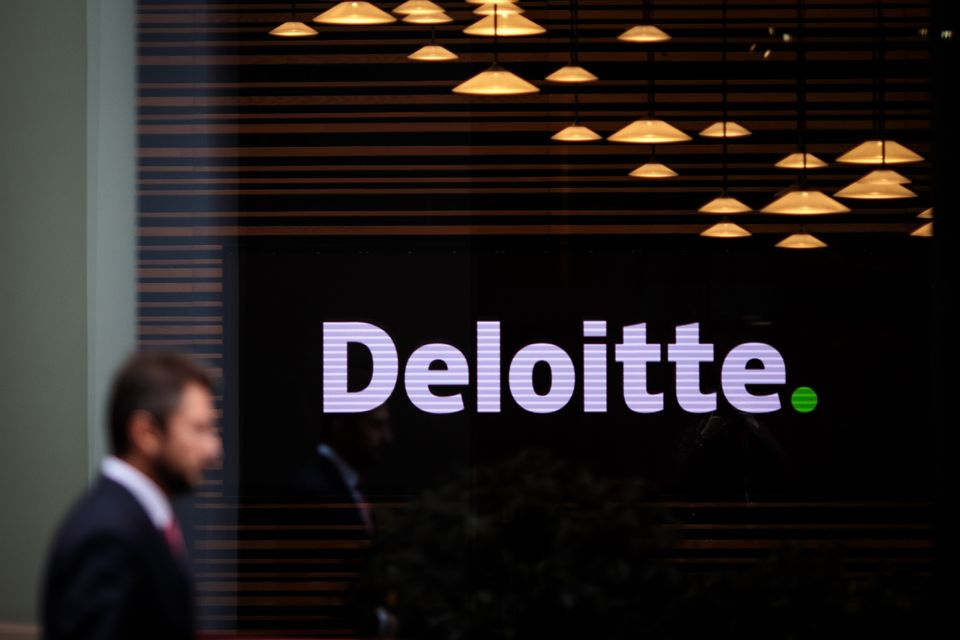 Deloitte is one of the UK's 'big four' accounting