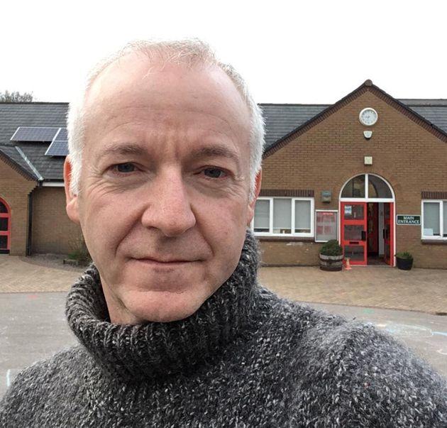 Jim Nicholson, headteacher at Mellor Primary School in