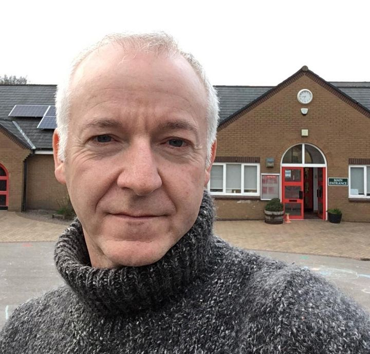 Jim Nicholson, headteacher at Mellor Primary School in Stockport