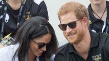 Royal Fotografen Mark Harry Und Meghan ' s Royal Ausfahrt Mit Süßen Beiträge