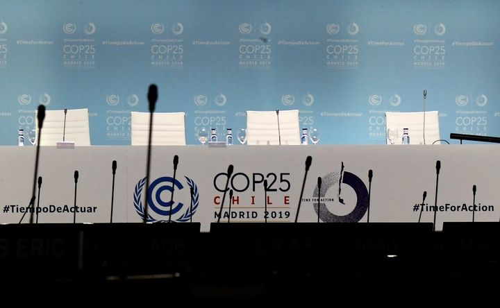 COP25 in Madrid last December.