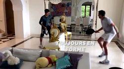 Comme Novak Djokovic, ces sportifs trompent le confinement pour garder la