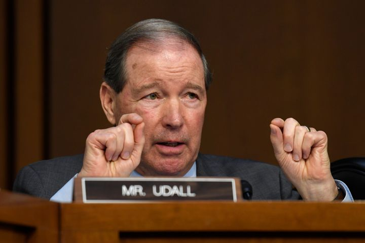 Sen. Tom Udall (D-N.M.), vice chair of the Senate Indian Affairs Committee, helped lobby Republicans to support relief for tr