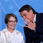 Na contramão de Bolsonaro, ministra da Agricultura nega risco de desabastecimento no