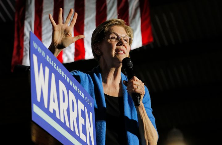 "Sen. Elizabeth Warren addressed the ""urgent need"" to support people experiencing homelessness."