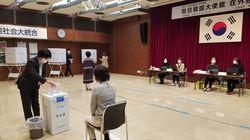 '코로나19' 확산 중인 도쿄의 재외국민 투표 첫날 열기는 예상외로