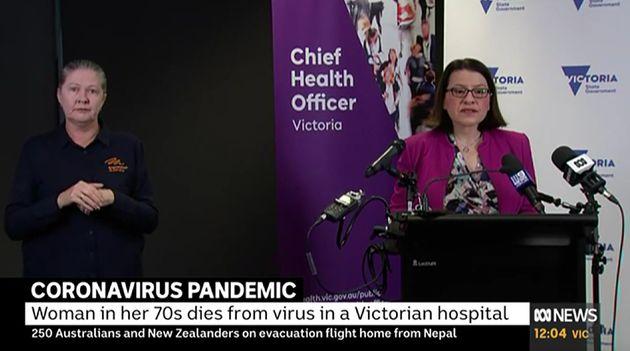Victoria's Health Minister Jenny Mikakos on