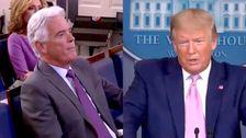 Trump Serangan Fox News' John Roberts Untuk Mengajukan Pertanyaan Normal