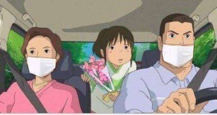 '전국 가구당 천 마스크 2장 배포' 일본 정책에 대한 현지 네티즌들의 풍자