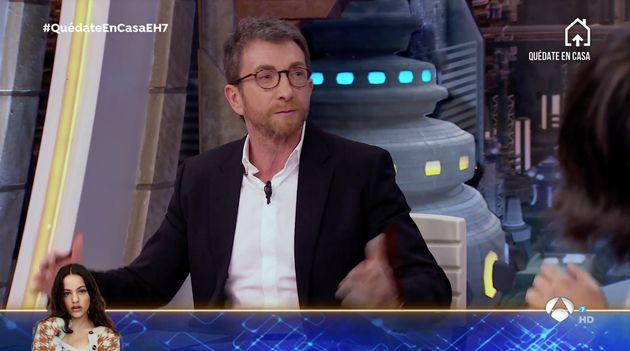 Pablo Motos, en 'El Hormiguero' el 1 de abril de