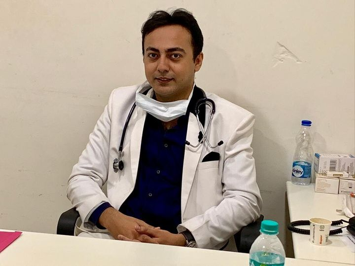 Indranil Khan, an oncologist in West Bengal, was detained for 16 hours after he posted about the lack of personal protective gear available to doctors treating coronavirus patients.