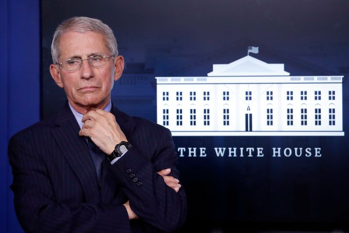 Fauci is a regular fixture at the White House's coronavirus briefings, a position that's earned him national recognition.&nbs