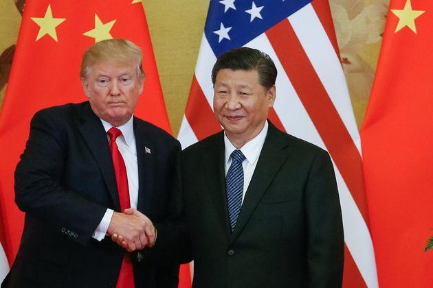 Trump i Ping, durante un encuentro del G20 en diciembre de