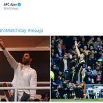 El palo de Sergio Ramos tras esta ofensiva comparativa del Ajax: ni una palabra y cuatro