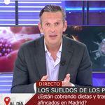 Joaquín Prat, indignado al conocer lo que siguen cobrando en dietas algunos políticos: