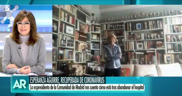 Esperanza Aguirre en 'El programa de