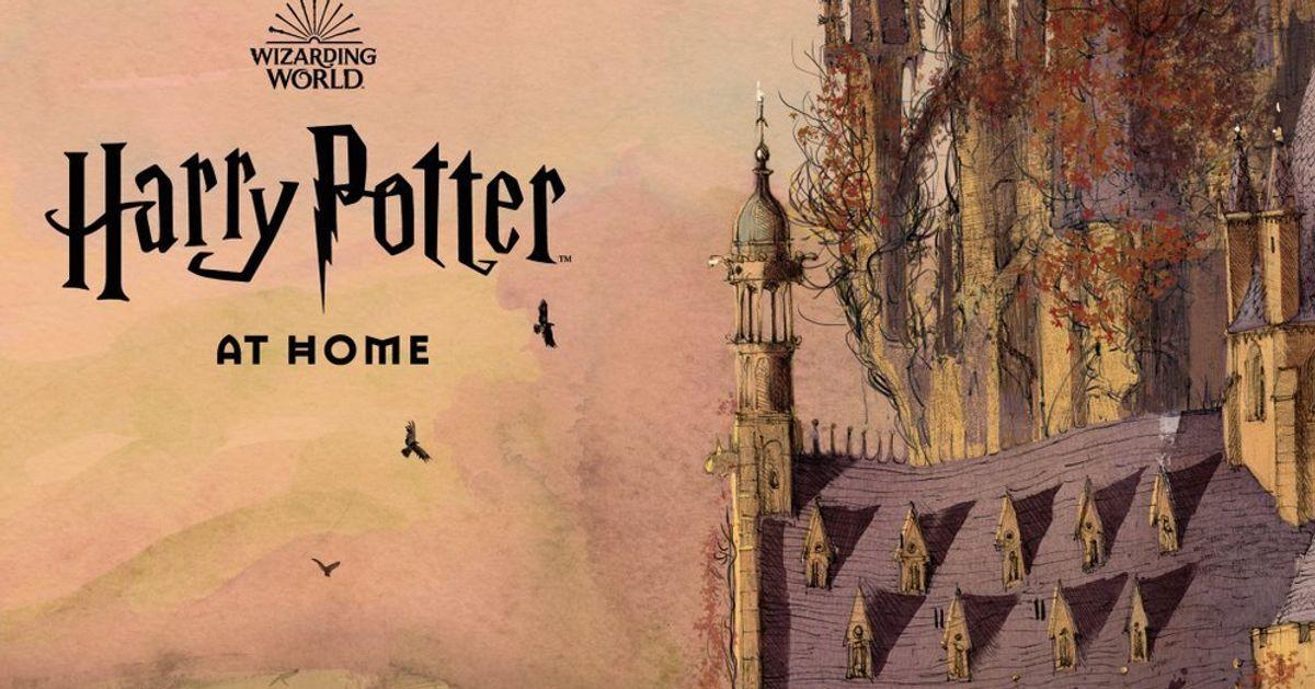 Un nouveau site de Harry Potter pour occuper les enfants