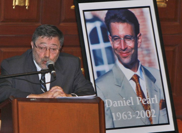 In this April 15, 2007, file photo, Dr. Judea Pearl, father of American journalist Daniel Pearl, who was killed by terrorists