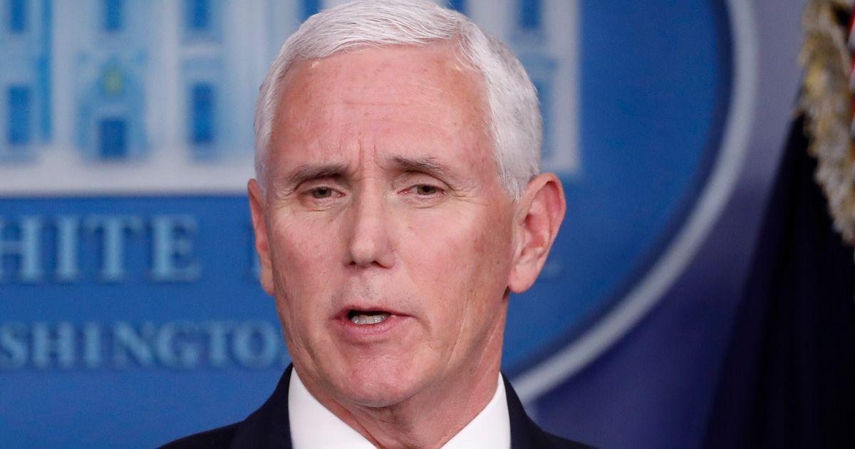 Searing Supercut Makes Mincemeat Of Mike Pence's Trump Coronavirus Defense