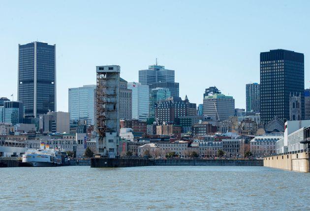 Montréal est la ville canadienne avec le plus de cas de COVID-19. (photo