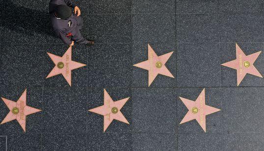 Así está el Paseo de la Fama en Hollywood por la