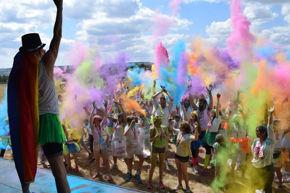 The hospice raises money through a number of initiatives, including a Colour Run, which are currently impossible to hold.