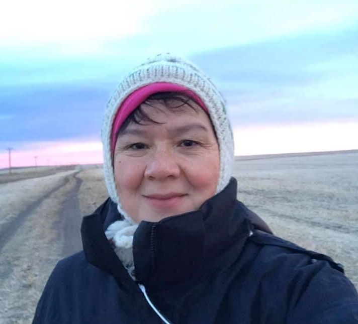 Dr. Esther Tailfeathers on her homelands on the Blood Tribe in southern Alberta. She says Indigenous Peoples aren't equipped to deal with a pandemic in their communities.