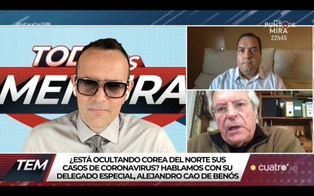 Risto Mejide, Javier Naart y Cao de