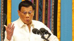 El presidente de Filipinas anima a las Fuerzas de Seguridad a