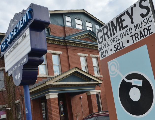 A general view of Grimey's in Nashville,