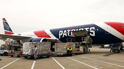 New England Patriots Jet Brings 1.2 Million N95 Masks From