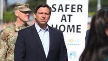 Der Gouverneur Von Florida, Stellt Die Religiösen Dienste Von Stay-At-Home, Um