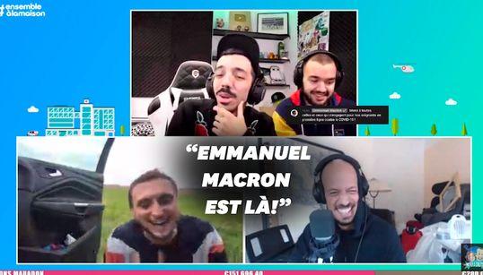 """Emmanuel Macron remercie """"Mcfly & Carlito"""" pour leur aide aux"""