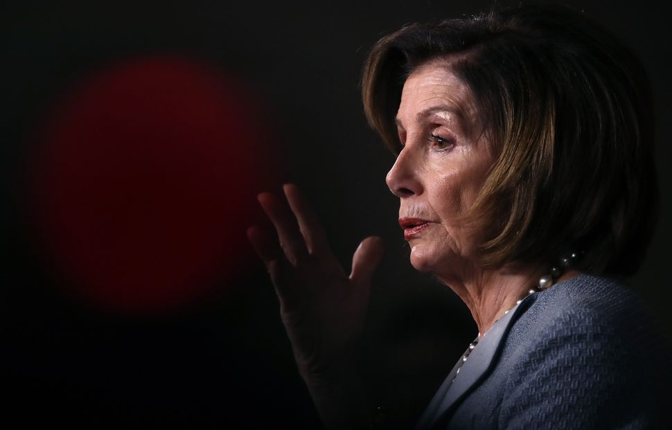 Speaker of the House Nancy Pelosi (D-Calif.) in February.