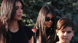 Kourtney Kardashian's Son Is Starting Feuds, Spilling Family Tea On Secret
