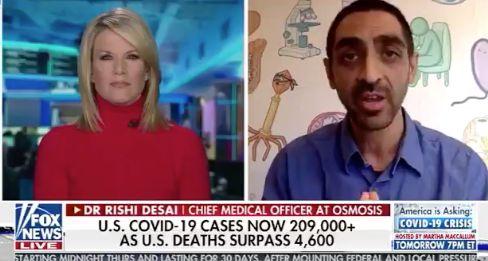 Le Dr Rishi Desai en entrevue avec Martha