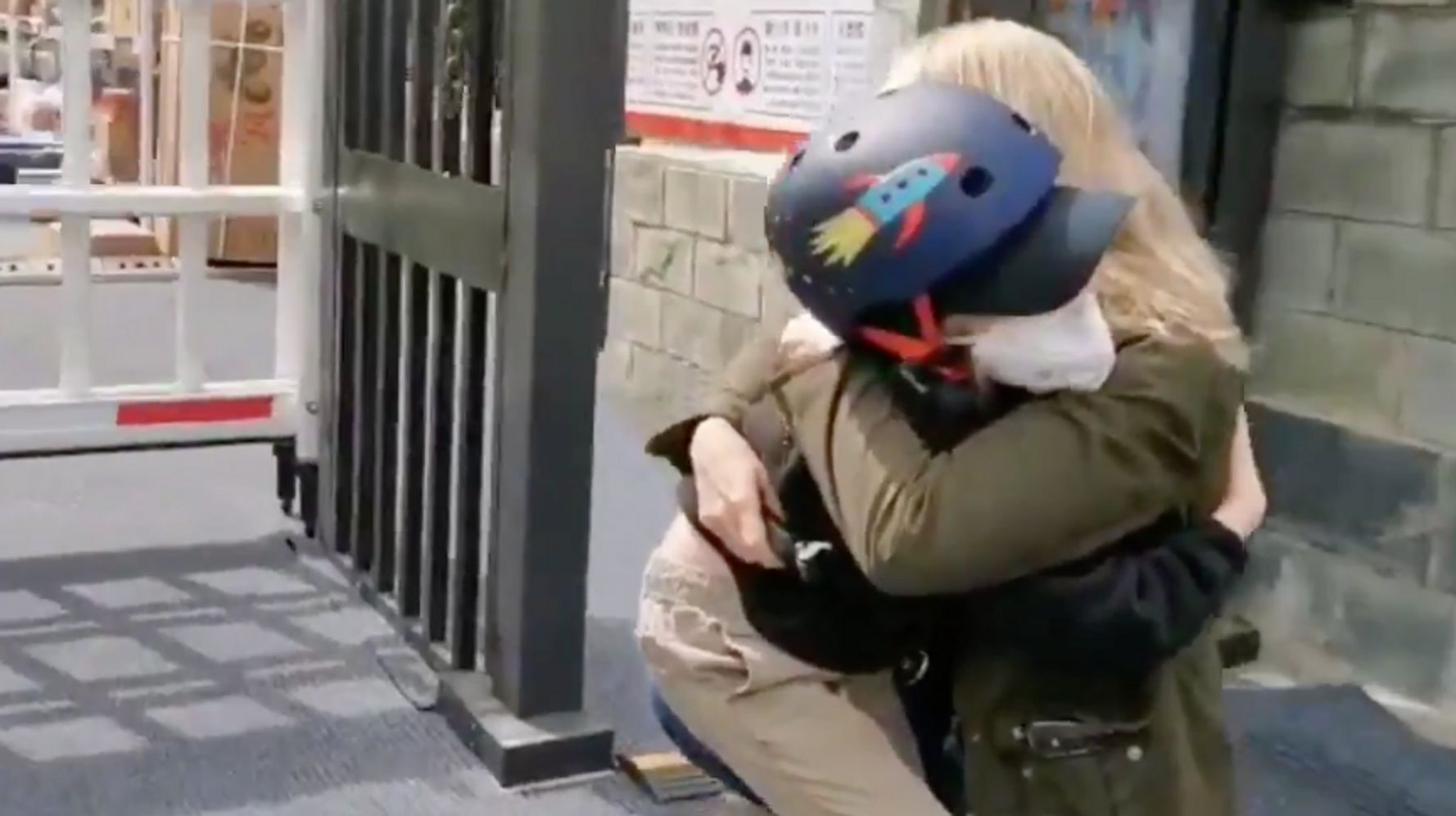 Journalist Has Emotional Reunion With Young Son After Quarantine And 49 Days Apart