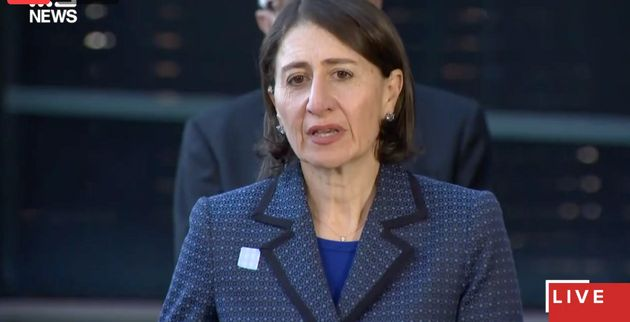 Premier Gladys Berejiklian speaks about the NSW coronavirus lockdown on