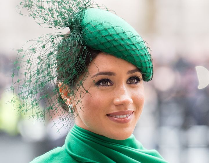 Meghan, Duchess of Sussex, attends Commonwealth Day service on March 9 in London.