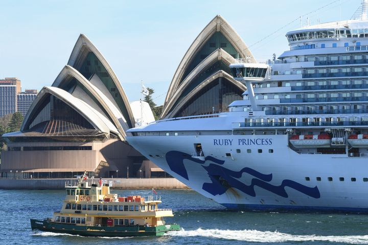The Ruby Princess cruise shiphas been linked to more than 400 cases of coronavirus.
