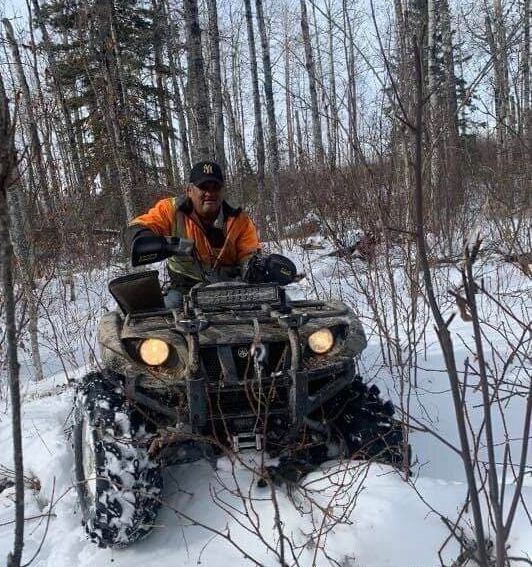 This photo of Morris Cardinal during a hunting trip was taken just hours before he was killed.