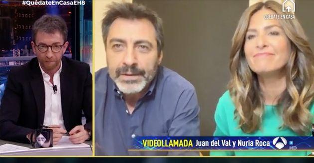 Juan del Val y Nuria Roca, en 'El