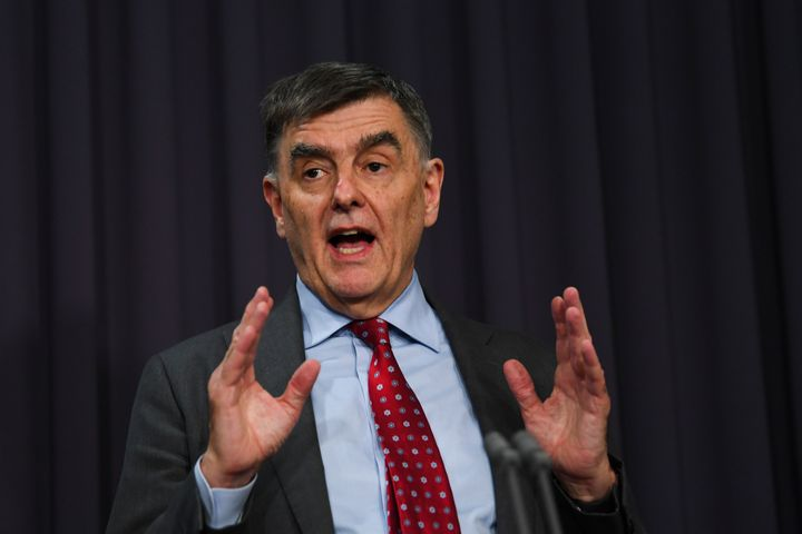 Australia's Chief Medical Officer Brendan Murphy