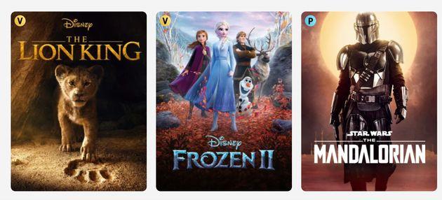 Disney Plus in