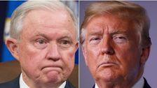 Trump Kampanye Luka Bakar 'Delusi' Sesi Dalam Surat Peringatan Yang Berapi-Api