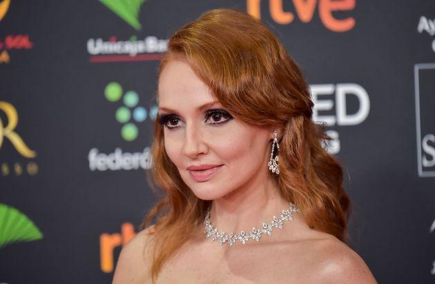 La actriz Cristina Castaño, en los Premios Goya