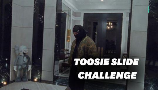 """Le nouveau clip de Drake déclenche le """"Toosie Slide challenge"""" sur"""
